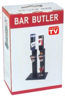 2BottleBar Butler Wooden Stand