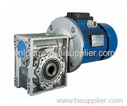 ac motor with worm gear