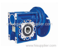 ac motor with worm gearbox
