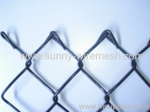 chain link iron fence