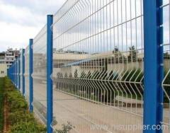 double ring welded wire fences