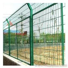 framed fence