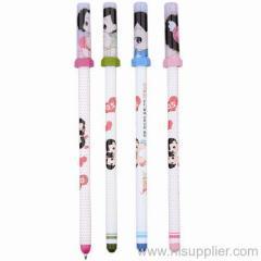 cap style ballpoint pen