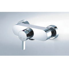 single lever brass shower mixer