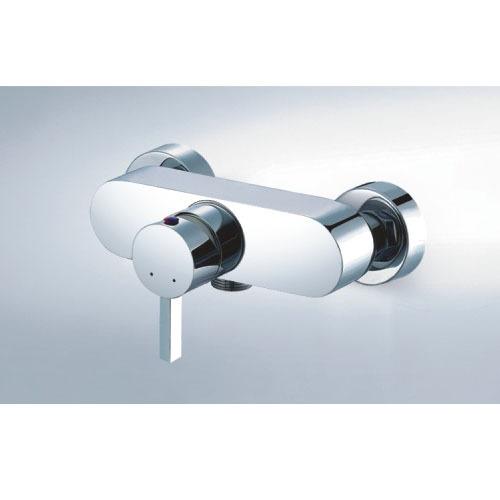 single lever brass shower mixer
