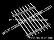 exterior woven metal fabric