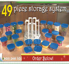 49pcs Storage Set