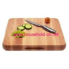 Chopping board with ss edge knife set
