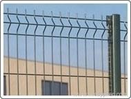 bending triangular welded mesh fence