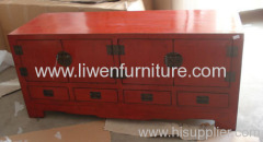Classical furniture TV cabinet