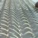Balance Conveyor Mesh Belt,made into convex to reduce the contact area