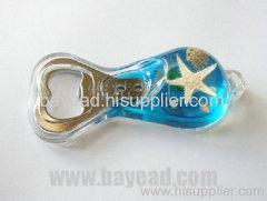 Real Starfish inside Bottle Opener For Pormotion Gift