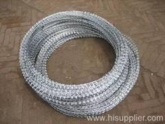 razor-barbed wires