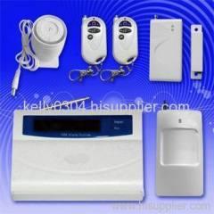 Lcd zone alarm