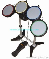 PS2/PS3/WII/PC 4 in 1 wireless drum kit