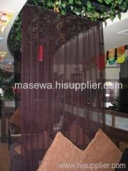 Chain mesh curtain for hotel