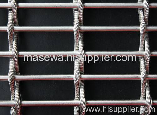 rope mesh woven wire mesh