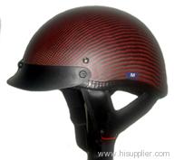 carbon fiber harley helmet