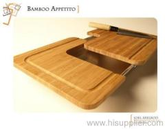 Sliding Bamboo Cutting Board