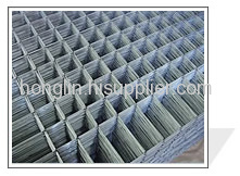 electro galvanized welded wire mesh panels