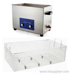 30L Mechanical Control Heatable Ultrasonic Cleaner