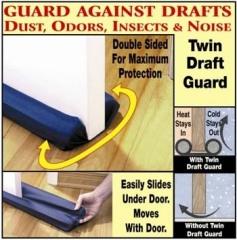 Twin Draft Guard