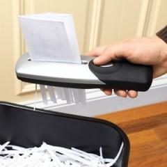 Hand Held Paper Shredder