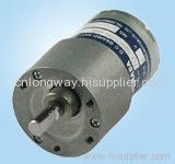 12VDC LOW NOISE LONG LIFE geared motor