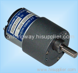 LOW NOISE LONG LIFE dc motor