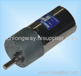 LOW NOISE LONG LIFE dc gear motor