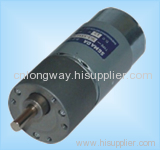 LOW NOISE LONG LIFE 12V dc motor