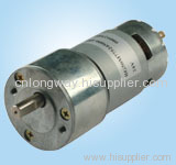 LOW NOISE LONG LIFE 12V dc geared motor