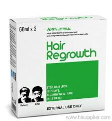 Herbal hair growth products OEM