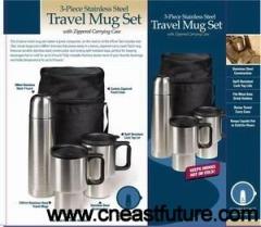 3pcs Travel Mug Set
