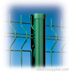 Curved Welded Wire Fence