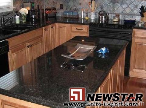 Black Pearl Granite Kitchen Top Products China Products