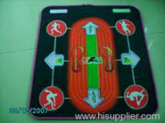 Olympic track and field dancing mat