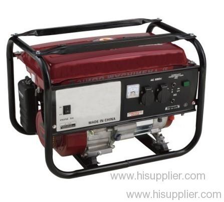 Powered gasoline generator