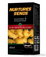 Ginger hair regrowth products, OEM