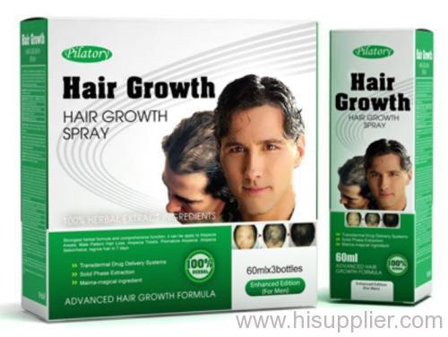 Herbal hair regrowth pilatory
