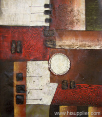 abstract oil handmade painting