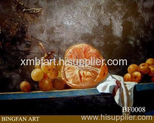 fruit canvas art painting