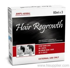 Hair loss remedy products