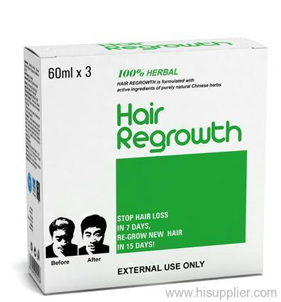 Herbal hair loss remedy products