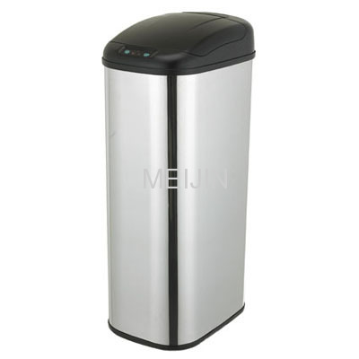 Infrared Stainless Steel Sensitive Dustbin