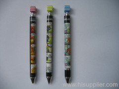 promotional semi metal ball pen