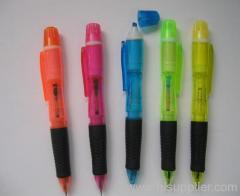 ball pen and mini highlighter pen
