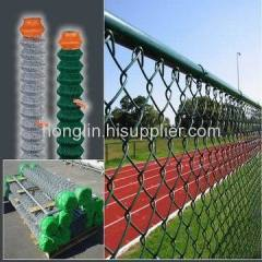 Diamond wire mesh fencings