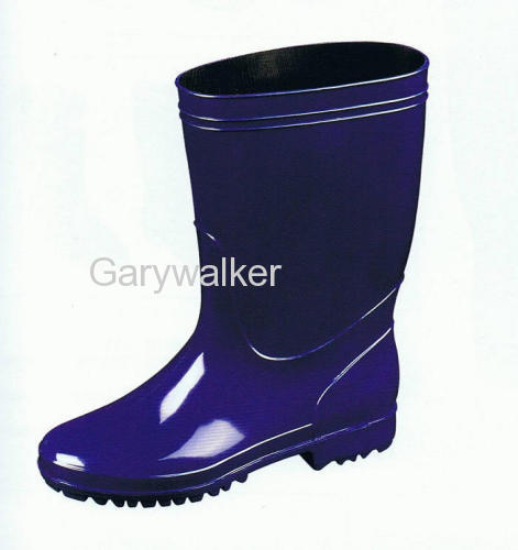 PVC work boots for unisex