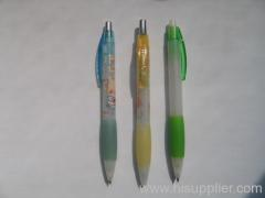 retractable plastic ball pens